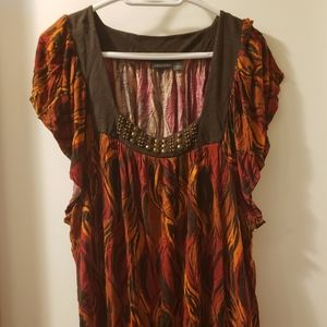 Like New Flutter Sleeve Top